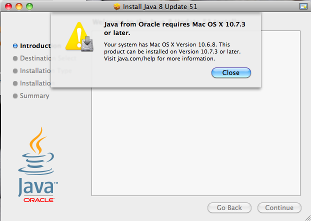 Apple Updates Java for Mac OS X 10.6 &10.7