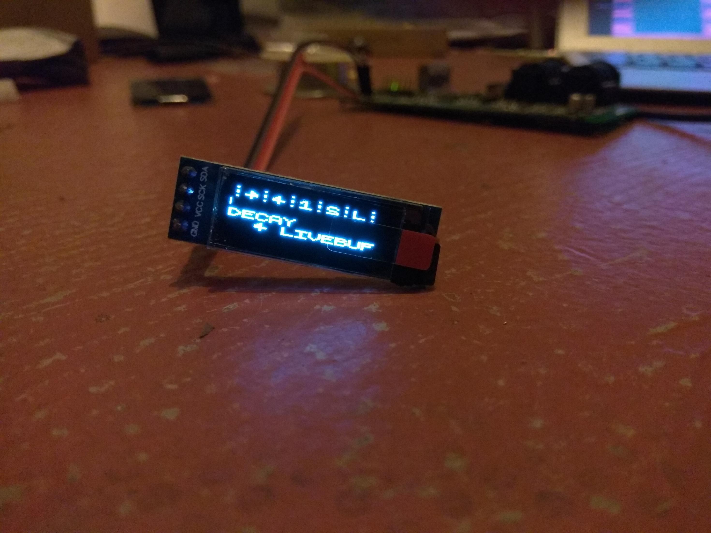 SPI/I2C OLED display - Hardware - Axoloti Community
