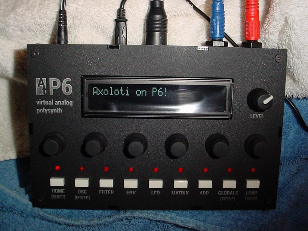 Running Axoloti on an Audiothingies P6 - Hardware - Axoloti Community